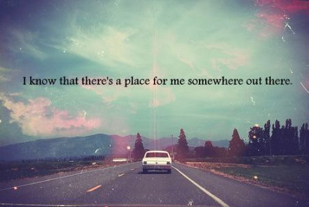 place for me