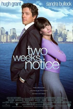 Movie Review: Two WeeksNotice